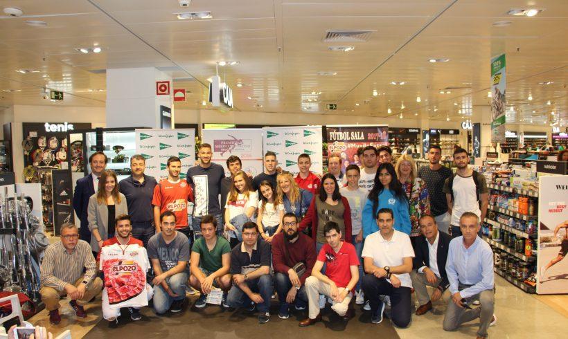 ACTO| Fernando y Pito en las II Charlas 'El deporte en la Región de Murcia' en El Corte Inglés