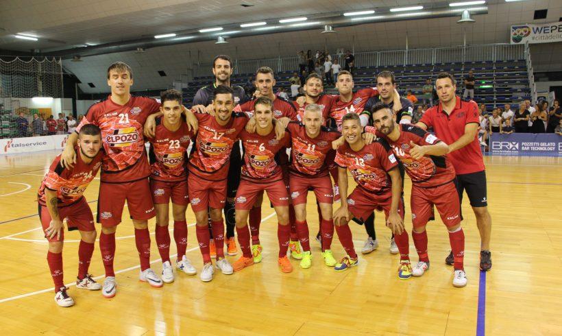 Pretemporada| ElPozo Murcia FS se impone 1-3 a Pesaro C5 y se alza con el Memorial Nino Pizza