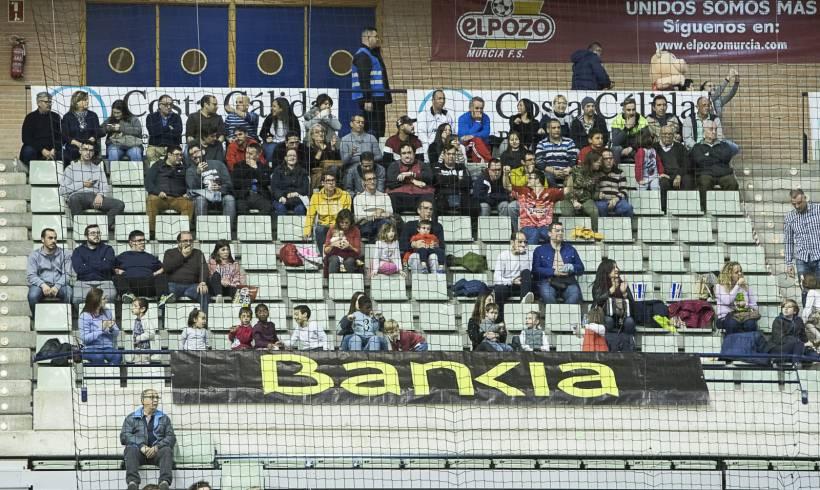 SOCIAL| Gracias a Bankia y ElPozo Murcia más de 200 personas de distintas asociaciones presenciaron el cierre de la 1ª Vuelta