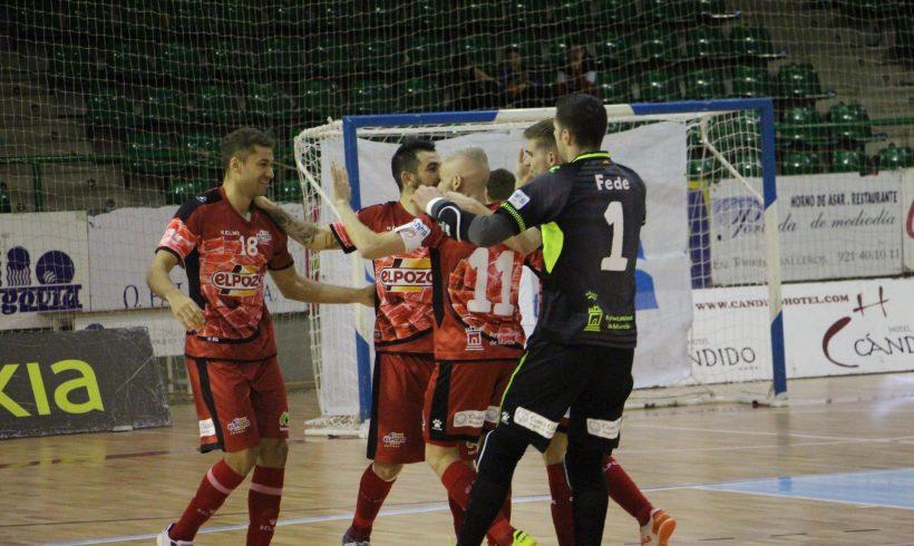 CRÓNICA J° 23 LNFS| ElPozo Murcia FS se impone 1-8 a Naturpellet Segovia y ya piensa en la Copa de Valencia
