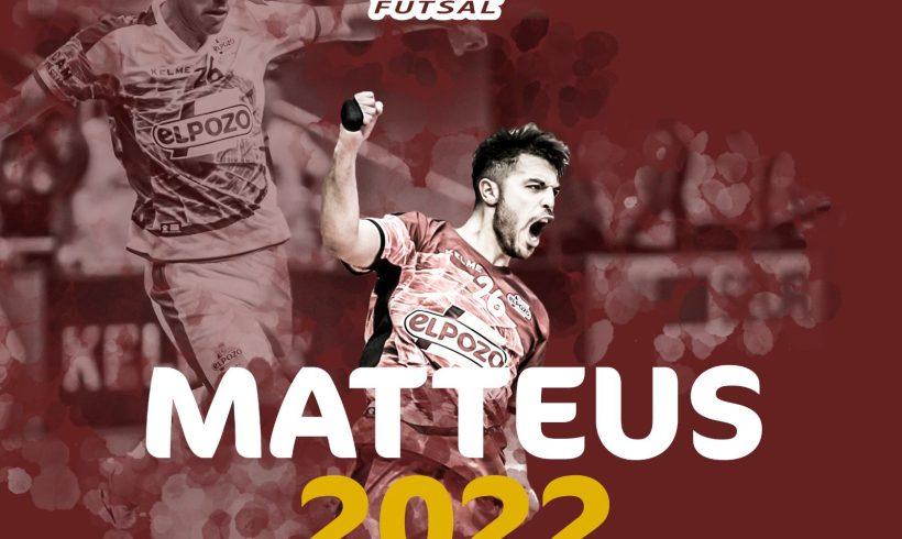 RENOVACIÓN| Ser murciano, es ser de ElPozo… Matteus renueva hasta 2022