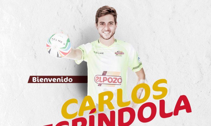 OFICIAL  Carlos Espíndola, nuevo portero de ElPozo Murcia FS