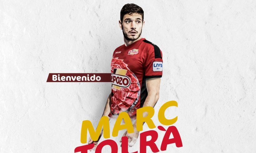 OFICIAL| El cierre internacional con España, MARC TOLRÀ, nuevo jugador de ElPozo Murcia FS
