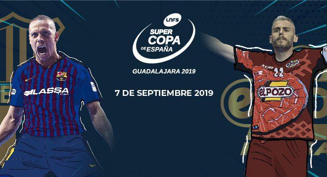 SUPERCOPA DE ESPAÑA 2019  Guadalajara será la sede el sábado 7 de septiembre (20 horas)