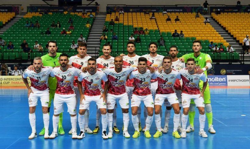 ElPozo Murcia FS se impone 0-7 a Mes Sungun en su debut de la Copa Intercontinental