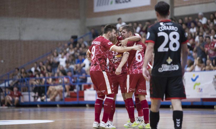 ¡A seguir en la senda de la victoria! Aspil Jumpers Ribera Navarra vs ElPozo Murcia FS