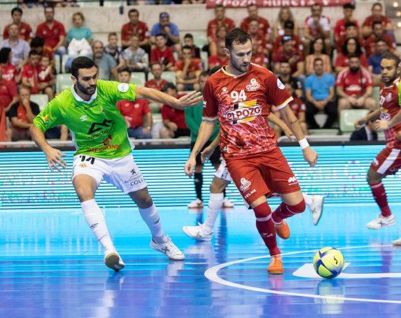 ElPozo Murcia FS y Palma Futsal empatan 1-1, con la lesión de Leo Santana