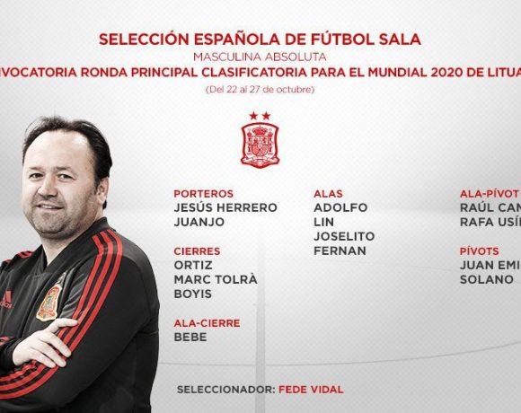 SELECCIÓN  Fernando y Marc Tolrà, convocados con España para la 1ª Fase Clasificación Mundial