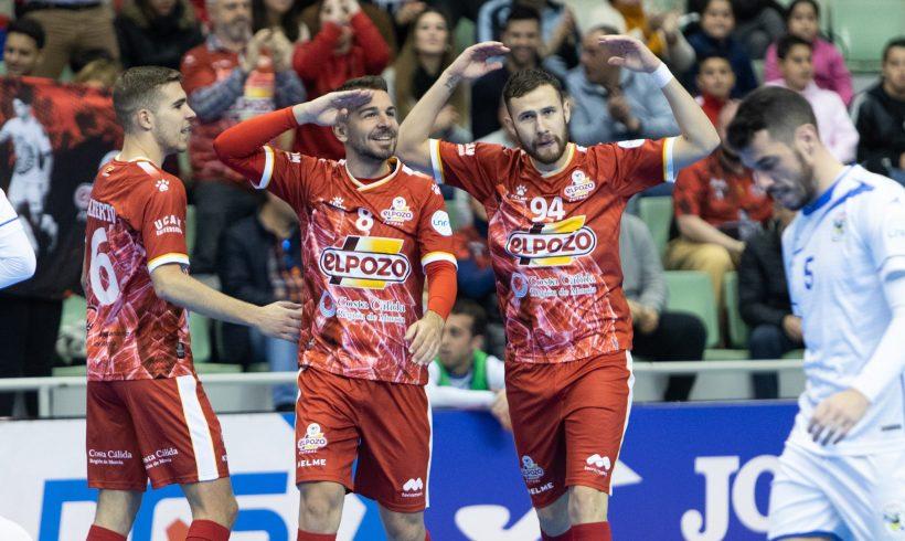 CRÓNICA J° 16 LNFS| ElPozo Murcia Fs se impone a O'Parrulo 6-1 para dar la bienvenida a 2020