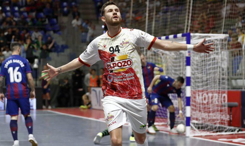 CRÓNICA CUARTOS COPA DE ESPAÑA| ElPozo supo sufrir ante el Levante y ya está en Semifinales