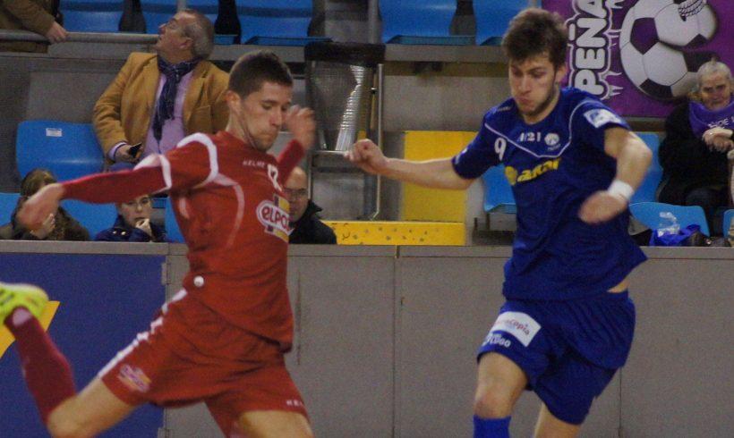 Partido de cuartos de la IV Copa de S.M El Rey  Azkar Lugo 1-5 ElPozo Murcia FS