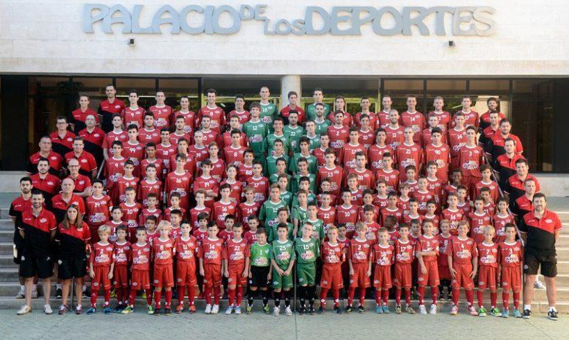 La cantera de ElPozo Murcia FS, diez equipos desde prebenjamines a Primera División