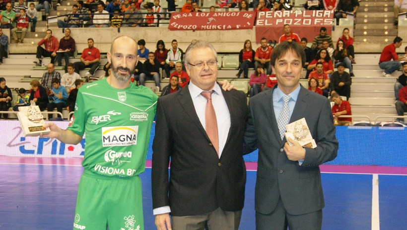 Homenaje a Imanol Arregui y Javi Eseverri de Magna Navarra
