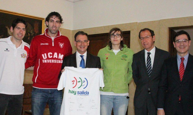 ElPozo Murcia FS apoya la campaña 'HAY SALIDA' en la lucha contra la Violencia de Género