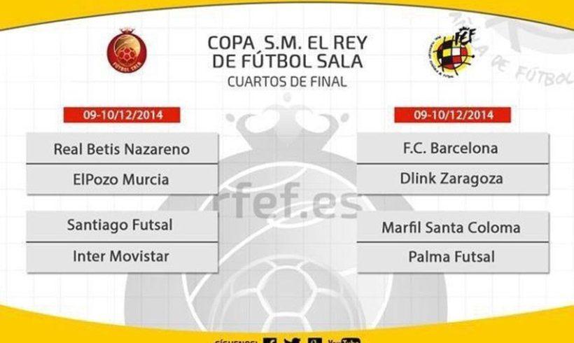 Real Betis FSN vs ElPozo Murcia, duelo de Cuartos Copa del Rey en Sevilla