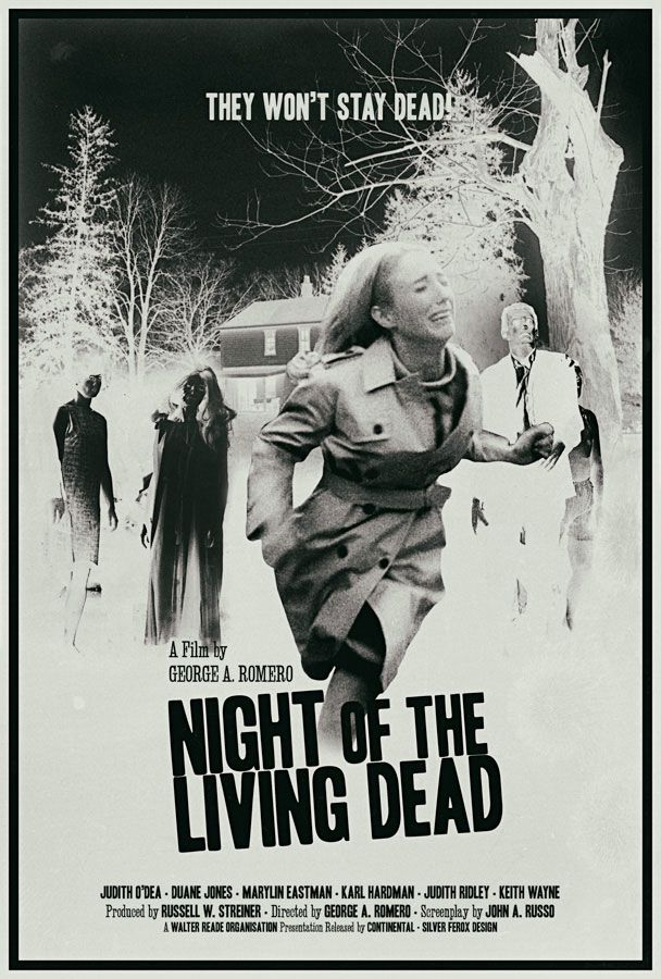 Night of the Living Dead (Silver Ferox Design)