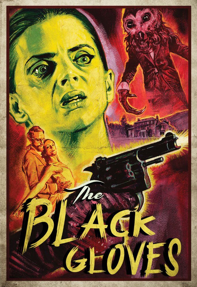The Black Gloves (Lawrie Brewster)