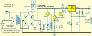Mobile Battery Charger Circuit and Working Principle | Elprocus