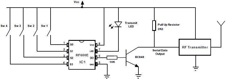 FM Remote Encoder Circuit