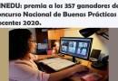 MINEDU: premia a los 357 ganadores del Concurso Nacional de Buenas Prácticas Docentes 2020.