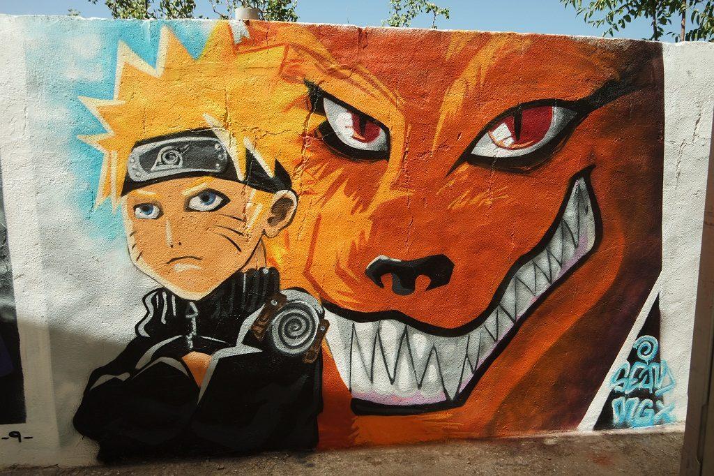 Naruto y Kurama