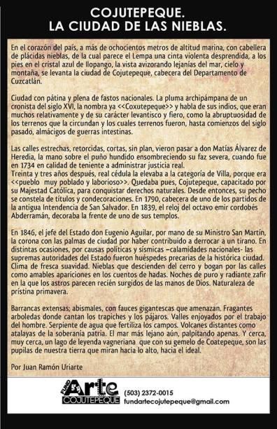 Cortesía de FundArte Cojutepeque.