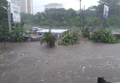 Fuertes lluvias causan estragos en varios puntos del país