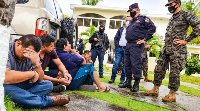 PNC, Fiscalía y Fuerza Armada desarticulan fuerte estructura criminal de narcotraficantes