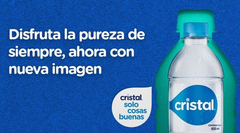 Agua Cristal estrena nueva imagen con la misma pureza y calidad de siempre