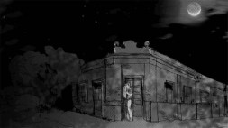 Beso de arrabal - dibujo perteneciente al video Melodia de arrabal de Roberto Pugliese