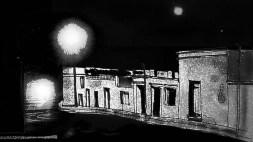 Casas por los arrabales , dibujo perteneciente al video Melodia de arrabal de Roberto Pugliese