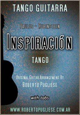 Inspiración 🎼 partitura de tango en guitarra.