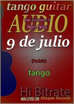 Nueve de julio 🎵 mp3 tango en guitarra