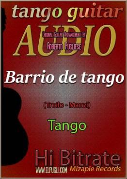 Barrio de tango 🎵 mp3 tango en guitarra