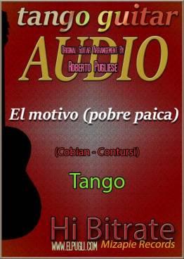El motivo (pobre paica) 🎵 mp3 tango clásico en guitarra