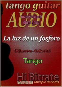 La luz de un fósforo 🎵 mp3 tango en guitarra