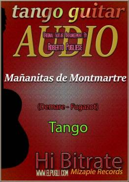 Mañanitas de Montmartre 🎵 mp3 tango en guitarra