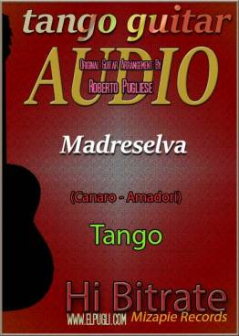 Madreselva 🎵 mp3 tango en guitarra