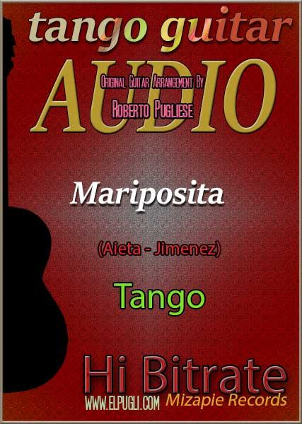Mariposita 🎶 mp3 tango en guitarra.