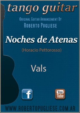 Noches de Atenas 🎼 partitura del vals en guitarra. Con video