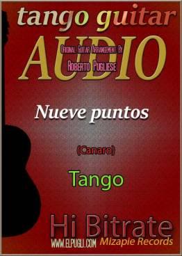 Nueve puntos 🎵 mp3 tango en guitarra