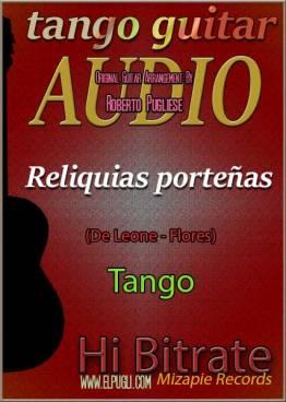 Reliquias porteñas mp3 milonga en guitarra por Roberto Pugliese