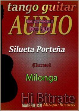 Silueta porteña 🎵 mp3 milonga en guitarra