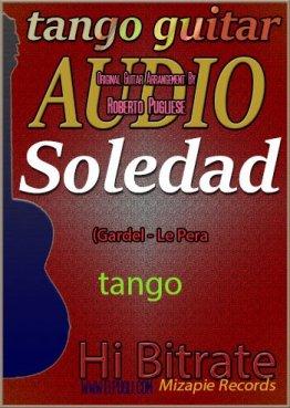 Soledad 🎵 mp3 del tango en guitarra.