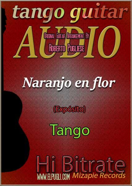 Naranjo en flor 🎵 mp3 tango en guitarra. Con partitura