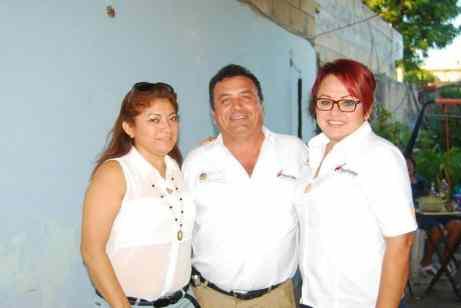 Con Diana Rejón Y Nancy Medina.
