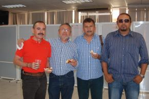 Álvaro Rivera Santín, Gabriel Ayora, JoséChávez. Edgar Gloria.