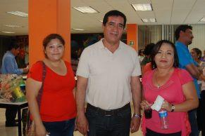 Claudia Rodríguez, Eduardo Gonzales y Patricia Ojeda.