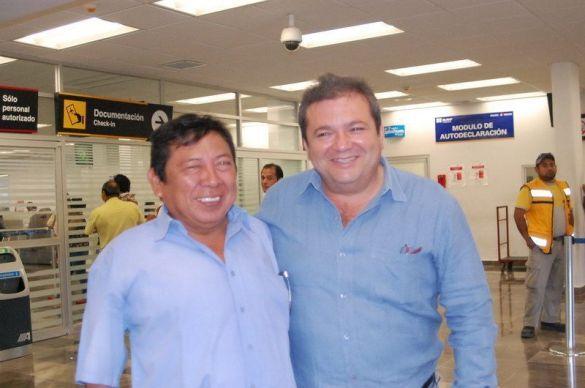 Luis Enrique Tuz y Florentino Ruiz Morcillo ORIGEN: Chetumal Quintana Roo DESTINO: No viajaron MOTIVO: se encontraron en el aeropuerto.
