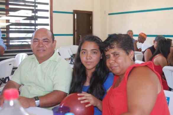 Elves Cabrera Cruz, Heidy Cabrera Contreras e Irma Contreras Ramón